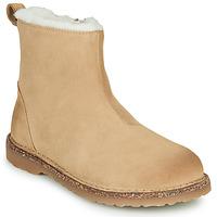 Schuhe Damen Boots Birkenstock MELROSE SHEARLING Beige
