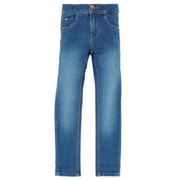 Kleidung Mädchen Slim Fit Jeans Name it NKFPOLLY Blau