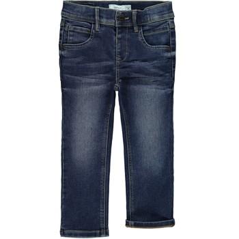 Kleidung Jungen Slim Fit Jeans Name it NMFRANDI Blau