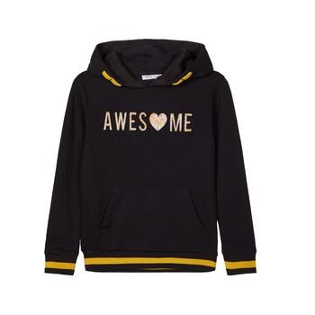 Kleidung Mädchen Sweatshirts Name it NKFLABELLAS Schwarz