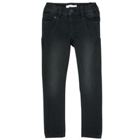 Kleidung Mädchen Slim Fit Jeans Name it NMFPOLLY Schwarz