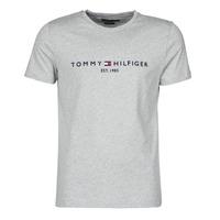 Kleidung Herren T-Shirts Tommy Hilfiger TOMMY LOGO TEE Grau