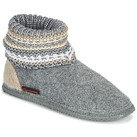 Schuhe Damen Hausschuhe Giesswein KIEL Grau