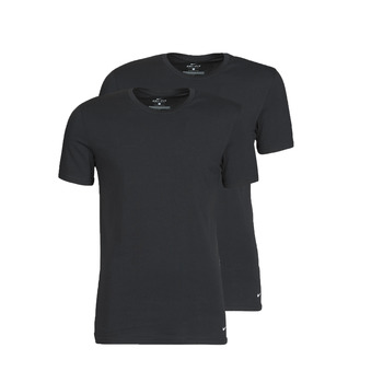 Kleidung Herren T-Shirts Nike EVERYDAY COTTON STRETCH Schwarz