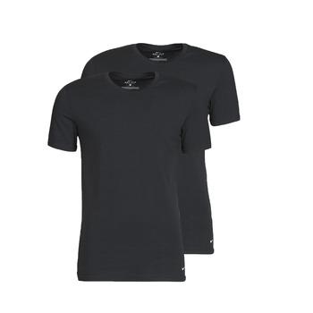 Kleidung Herren T-Shirts Nike EVERYDAY COTTON STRETCH Schwarz