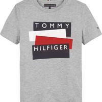 Kleidung Jungen T-Shirts Tommy Hilfiger KB0KB05849-P6U Grau