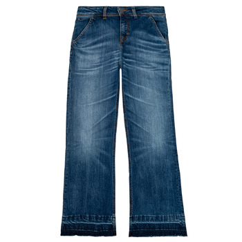 Kleidung Mädchen Straight Leg Jeans Tommy Hilfiger KG0KG05199-1BJ Blau