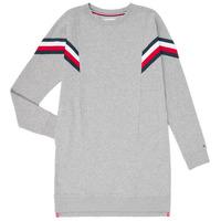 Kleidung Mädchen Kurze Kleider Tommy Hilfiger KG0KG05283-P6U Grau