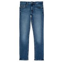 Kleidung Jungen Slim Fit Jeans Tommy Hilfiger SCANTON SLIM Blau
