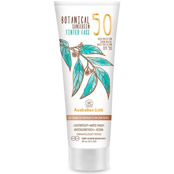 Beauty Sonnenschutz & Sonnenpflege Australian Gold Botanical Spf50 Tinted Face medium-tan  88 ml
