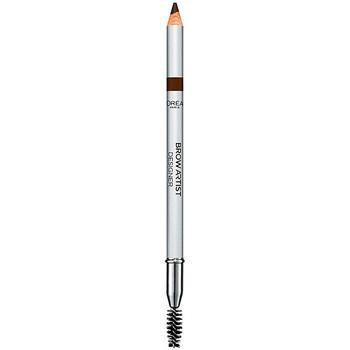 Beauty Damen Augenbrauenpflege L'oréal Color Riche Brow Artist Crayon Sourcils 303-deep Brown