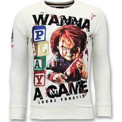 Kleidung Herren Sweatshirts Local Fanatic Chucky Childs Play Weiß