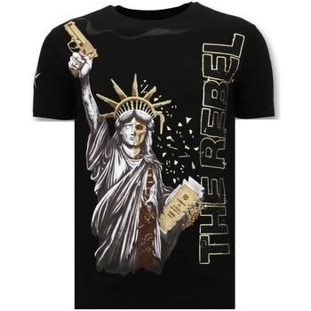 Kleidung Herren T-Shirts Local Fanatic Der Rebell Schwarz