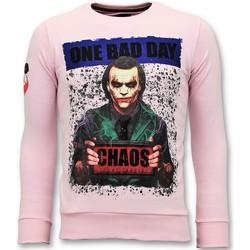 Kleidung Herren Sweatshirts Local Fanatic Der JokerMann Rosa