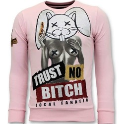 Kleidung Herren Sweatshirts Local Fanatic Trust No Bitch Rosa