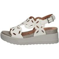 Schuhe Damen Sandalen / Sandaletten Stonefly 214189 WEISS