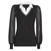 Kleidung Damen Pullover Morgan MVANI Schwarz