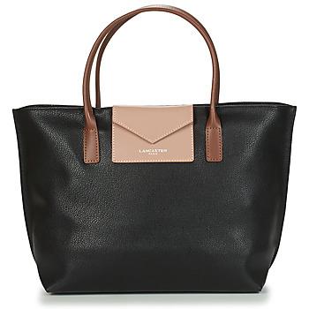 Taschen Damen Shopper / Einkaufstasche LANCASTER MAYA Schwarz