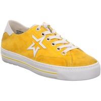Schuhe Damen Sneaker Low Paul Green 4810-226 gelb