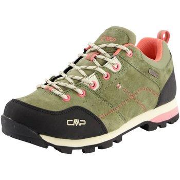Schuhe Damen Wanderschuhe Cmp F.lli Campagnolo Sportschuhe ALCOR LOW WMN TREKKING SHOE WP 39Q4896 F854 oliv
