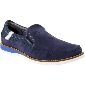 Schuhe Herren Slipper Daniel Hechter Slipper Herve Moc 811437673400-4100 blau