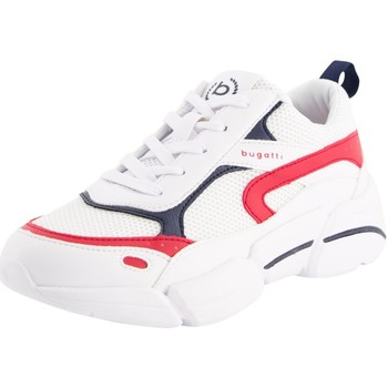 Schuhe Damen Sneaker Low Bugatti Shiggy 436668015050-2030 weiß