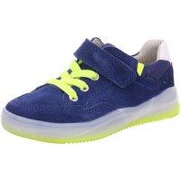 Schuhe Jungen Sneaker Low Richter Klettschuhe 430907 5 blau