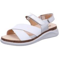 Schuhe Damen Sandalen / Sandaletten Ganter Sandaletten Holly 9-200220-0674 weiß