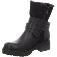 Schuhe Damen Schneestiefel Laufsteg München Stiefeletten HW190801,black HW190801 schwarz