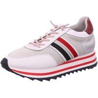 Schuhe Damen Sneaker Low Laufsteg München FS202201 WHITE weiß