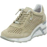 Schuhe Damen Sneaker Low Cetti C1143-SRA-nude beige