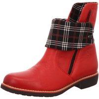 Schuhe Damen Low Boots Maciejka Stiefeletten 01086-08-00-3 rot