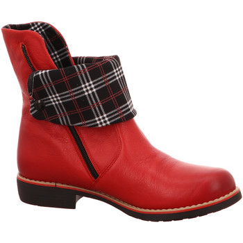 Schuhe Damen Stiefel Maciejka Stiefeletten rot