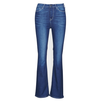 Kleidung Damen Bootcut Jeans Pepe jeans DION FLARE Blau / He1