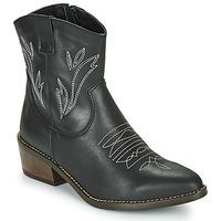 Schuhe Damen Low Boots Musse & Cloud TOPY Schwarz