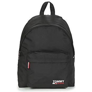 Taschen Rucksäcke Tommy Jeans TJM CAMPUS BOY BACKPACK Schwarz