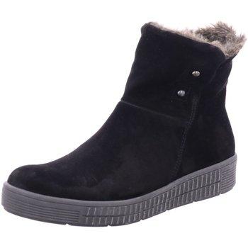 Schuhe Damen Schneestiefel Aco Stiefeletten 911-8528 W schwarz