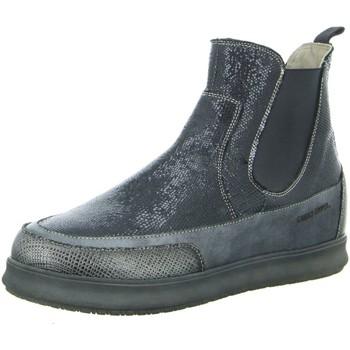 Schuhe Damen Stiefel Candice Cooper Stiefeletten beatles schwarz