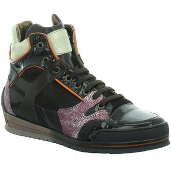 Schuhe Damen Sneaker High Candice Cooper Stiefeletten sporting 05 braun