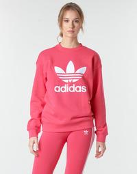 Kleidung Damen Sweatshirts adidas Originals TRF CREW SWEAT Rose