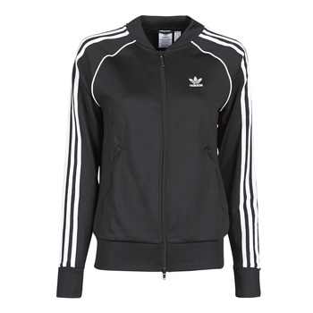 Kleidung Damen Trainingsjacken adidas Originals SST TRACKTOP PB Schwarz