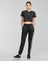 Kleidung Damen Jogginghosen adidas Originals SLIM PANTS Schwarz