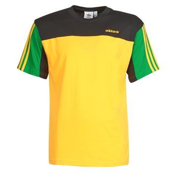 Kleidung Herren T-Shirts adidas Originals CLASSICS SS TEE Goldfarben / Activ