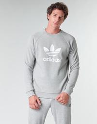 Kleidung Herren Sweatshirts adidas Originals TREFOIL CREW Grau