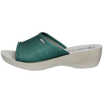 Schuhe Damen Pantoffel Inblu I Bianchi PL 45N ACQUAMARINA