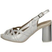 Schuhe Damen Sandalen / Sandaletten Pitillos 6161 SILVER