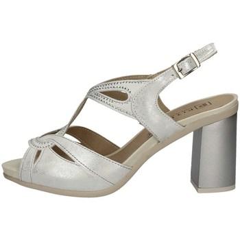 Schuhe Damen Sandalen / Sandaletten Pitillos 6160 SILVER