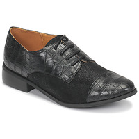 Schuhe Damen Derby-Schuhe Moony Mood NOULESSE Schwarz