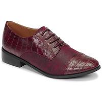 Schuhe Damen Derby-Schuhe Moony Mood NOULESSE Bordeaux