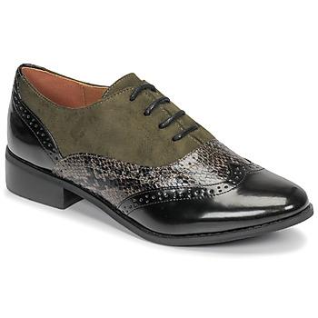 Schuhe Damen Derby-Schuhe Moony Mood NOULIME Kaki